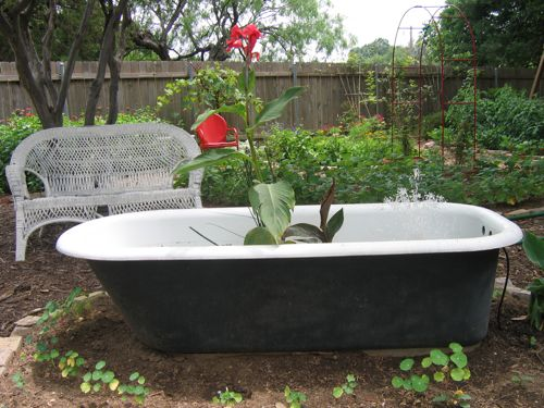 Since 1997, Iu0027ve Been The Owner Of An Antique Bathtub. Itu0027s A Large  White Enameled Vessel, Bigger Than Most. It Sits On A Platform Instead Of  Claw Feet.