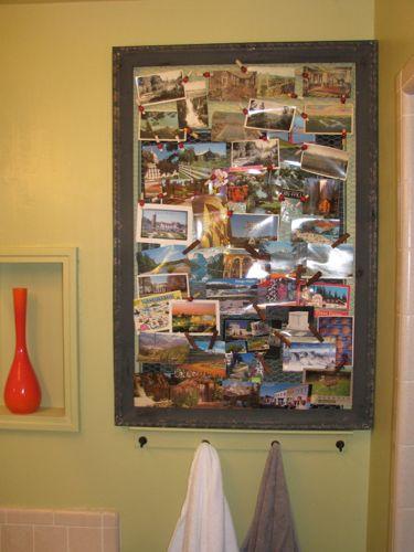 bathroom postcards